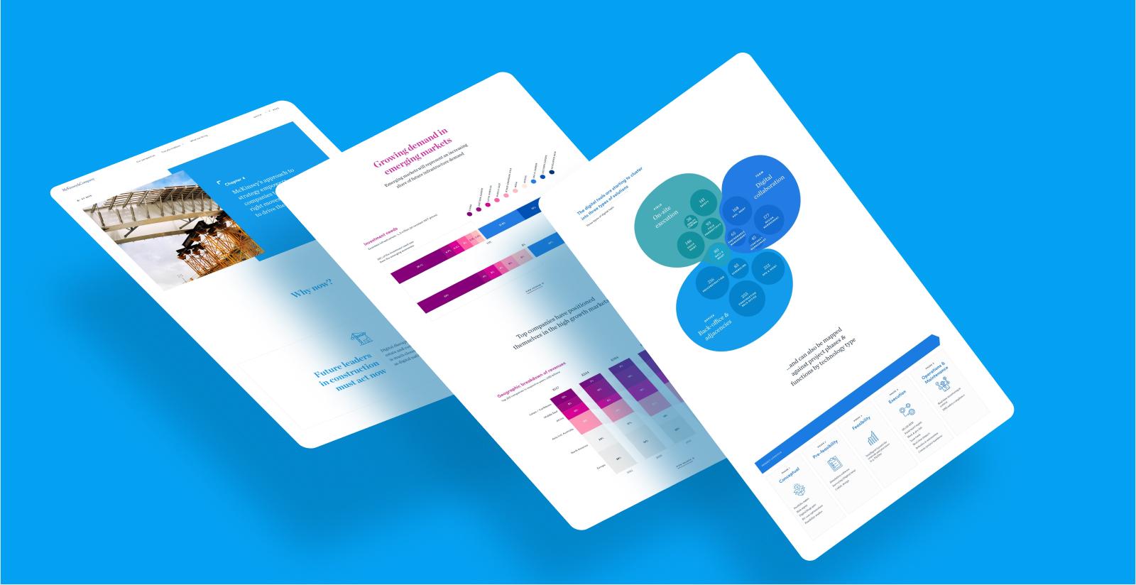 Hero image of UI Digital Design case study for McKinsey