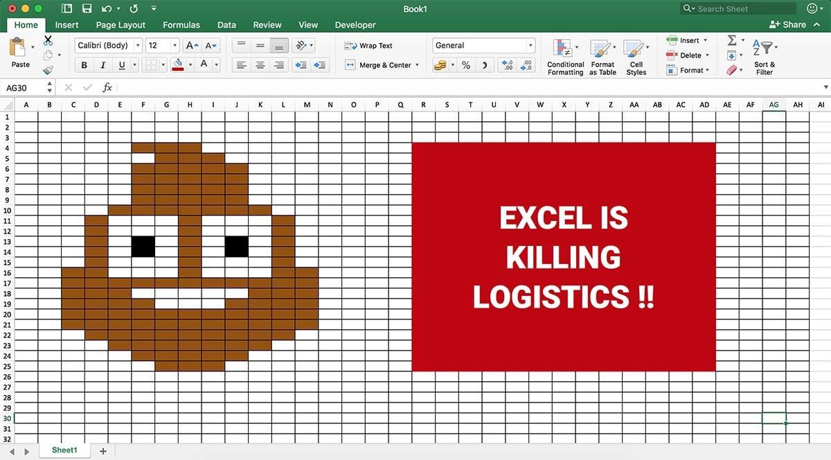 Excel is Killing Logistics