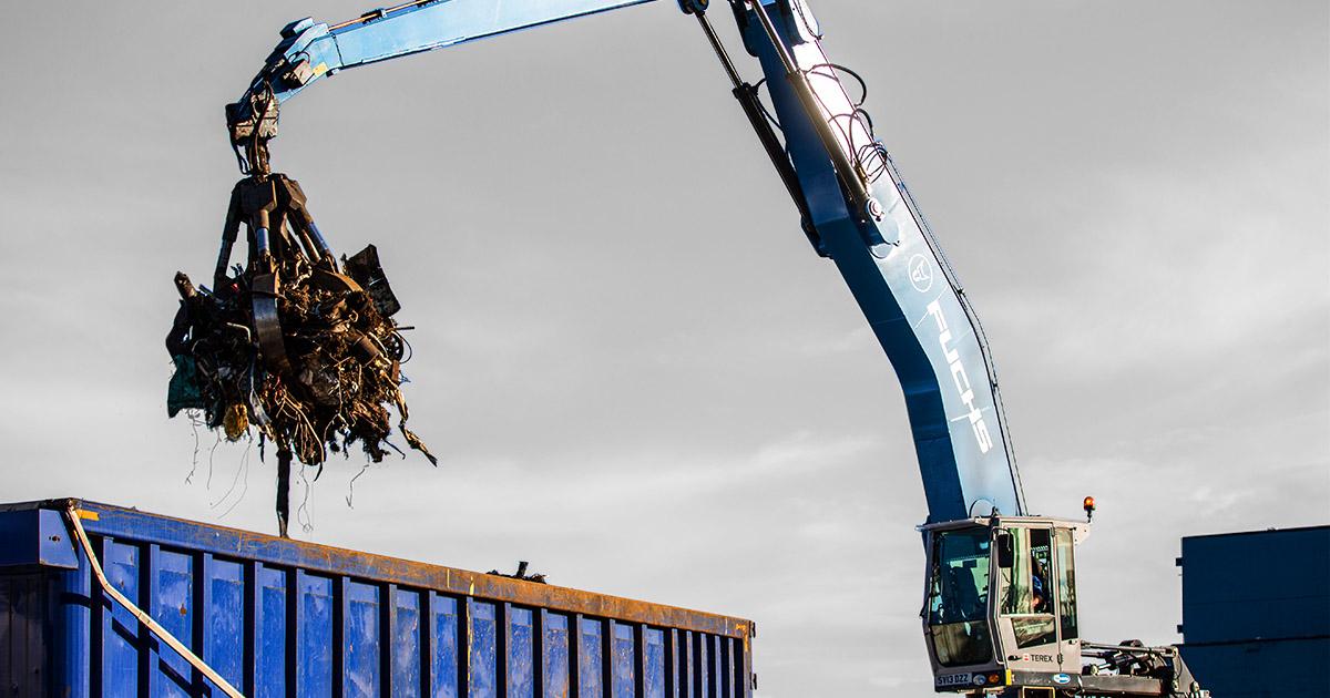 John Lawrie Metals Yard in Aberdeen Reopens