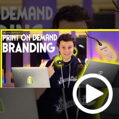 Video über Modelabel-Gründung mit Shirtigo von Frank Bendler – YouTuber, Business Coach und Spezialist für Print-on-Demand und E-Commerce