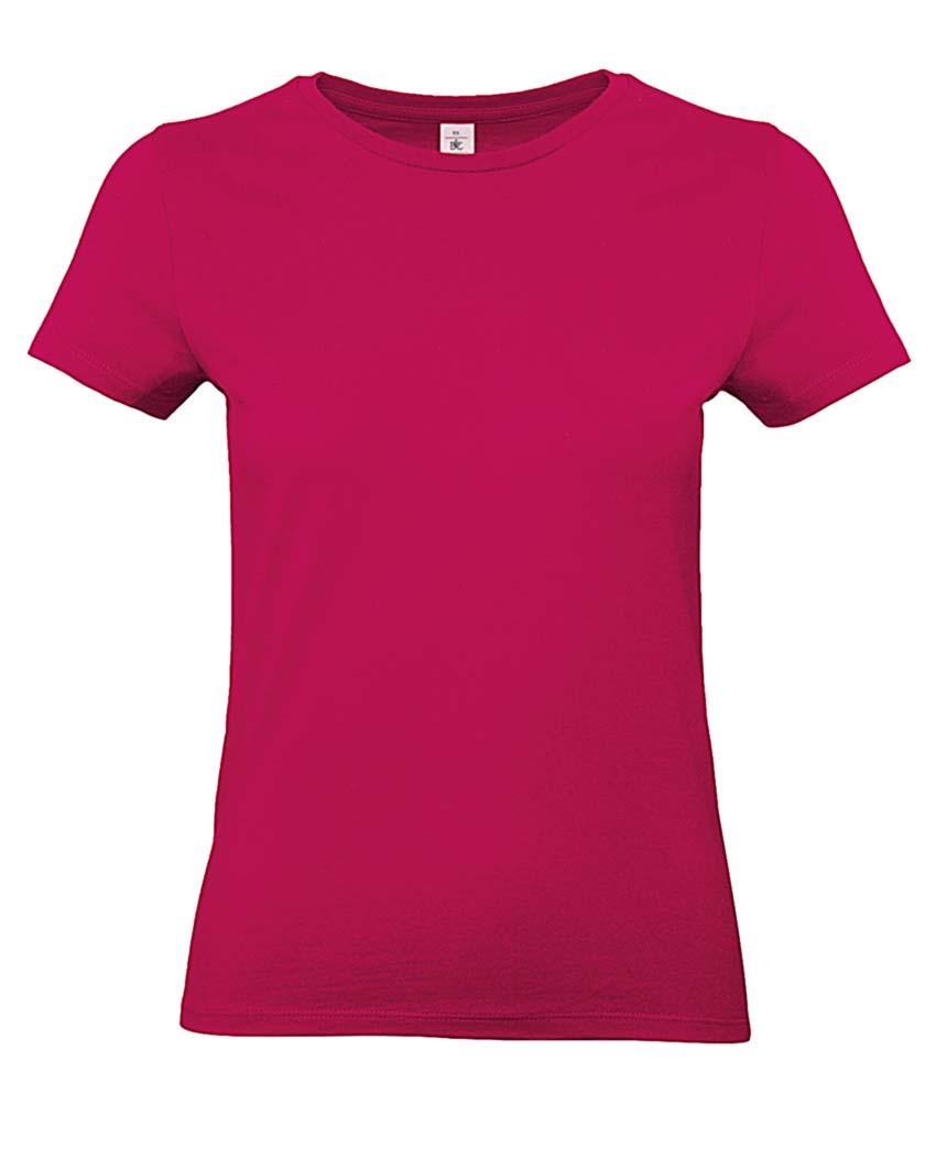 """Hellblaues Damen-T-Shirt mit Aufdruck """"Dein Design"""""""
