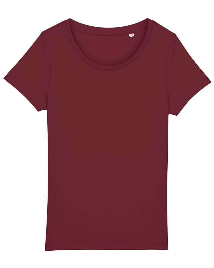 """Schwarzes Damen-T-Shirt mit Aufdruck """"Dein Design"""""""