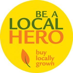 Be a Local Hero sticker from CISA, Community Involved in Sustaining Agriculture