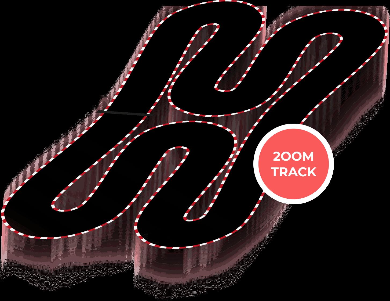 200 metre track