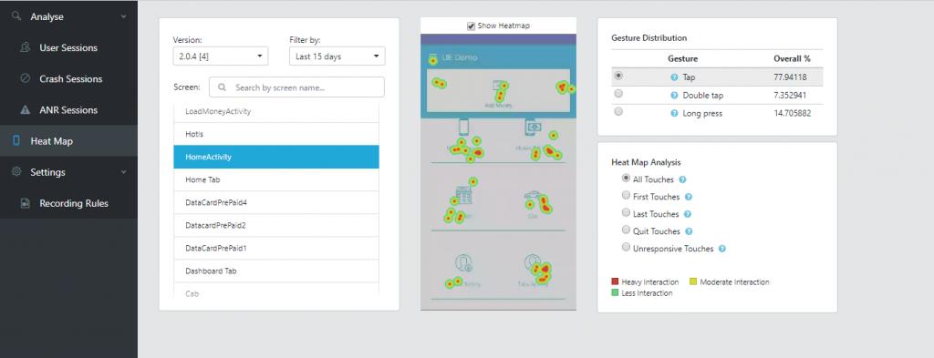 Heatmap: Mobile App ANalytics Best Practices