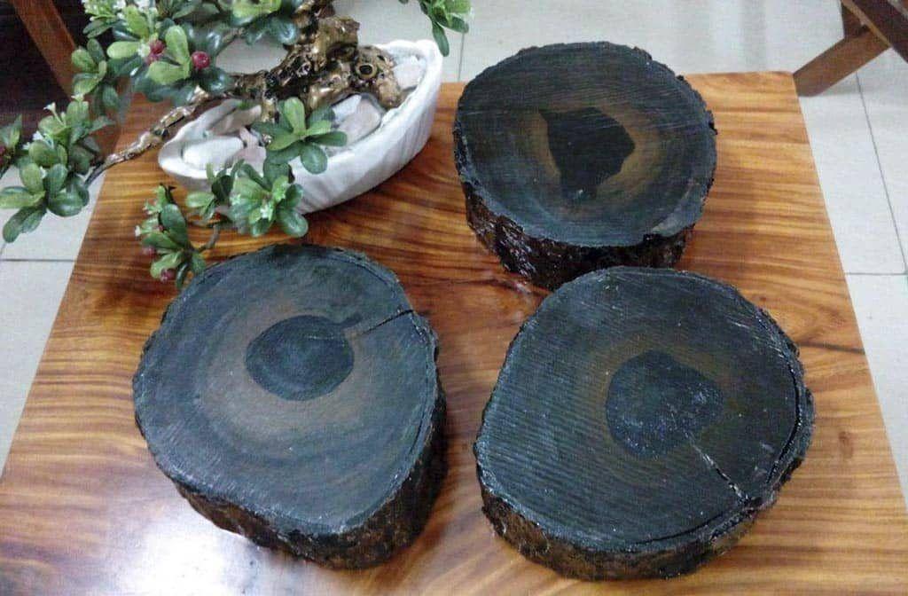 gỗ mun sừng