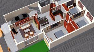 hình ảnh việt quốc group - phối cảnh các phòng trong căn nhà