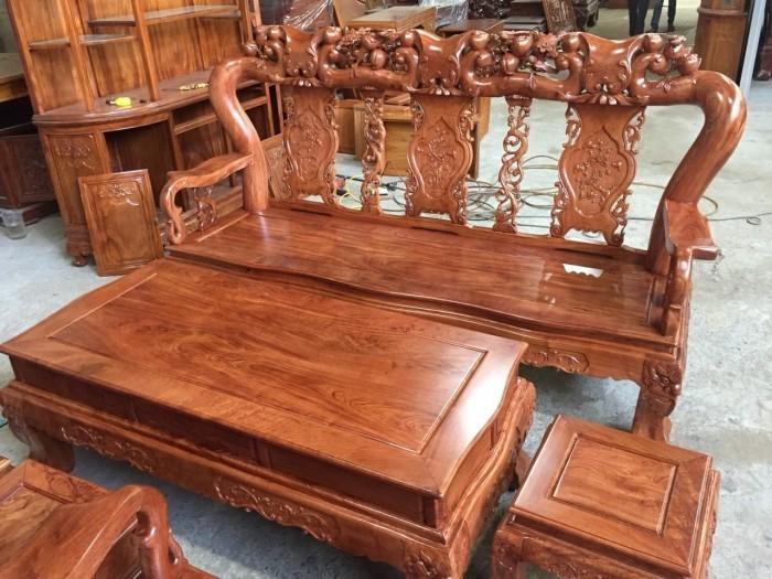 Bộ bàn ghế gỗ hương đá