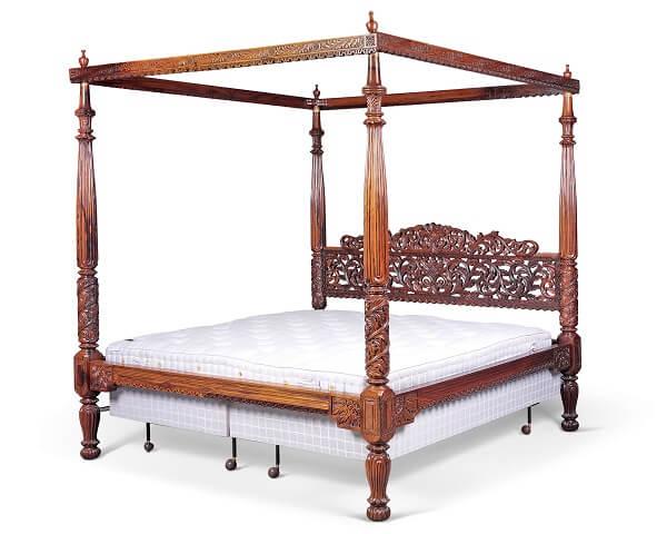 giường gỗ hương