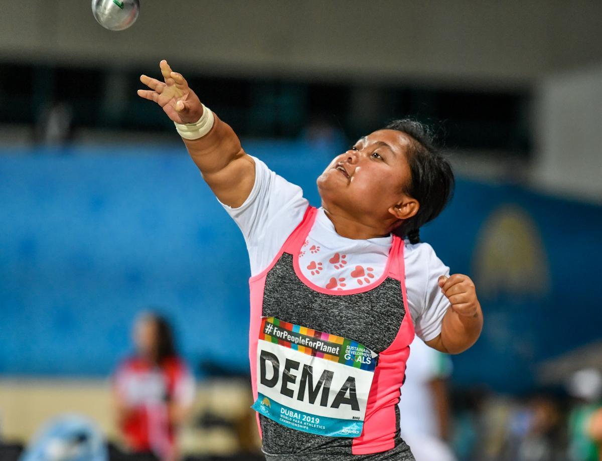 Paralympics Spotlight: Chimi Dema