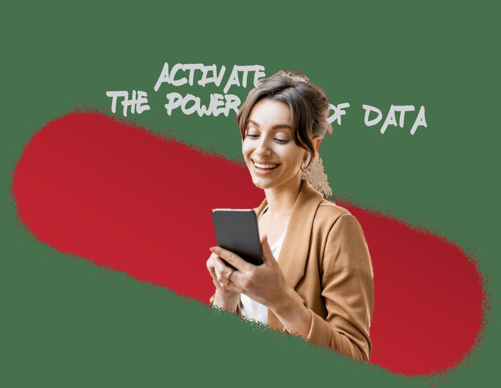 expert digital - Femme mobile