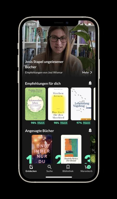 Bücher Tipps und Buchempfehlungen in der Bücher-App READO