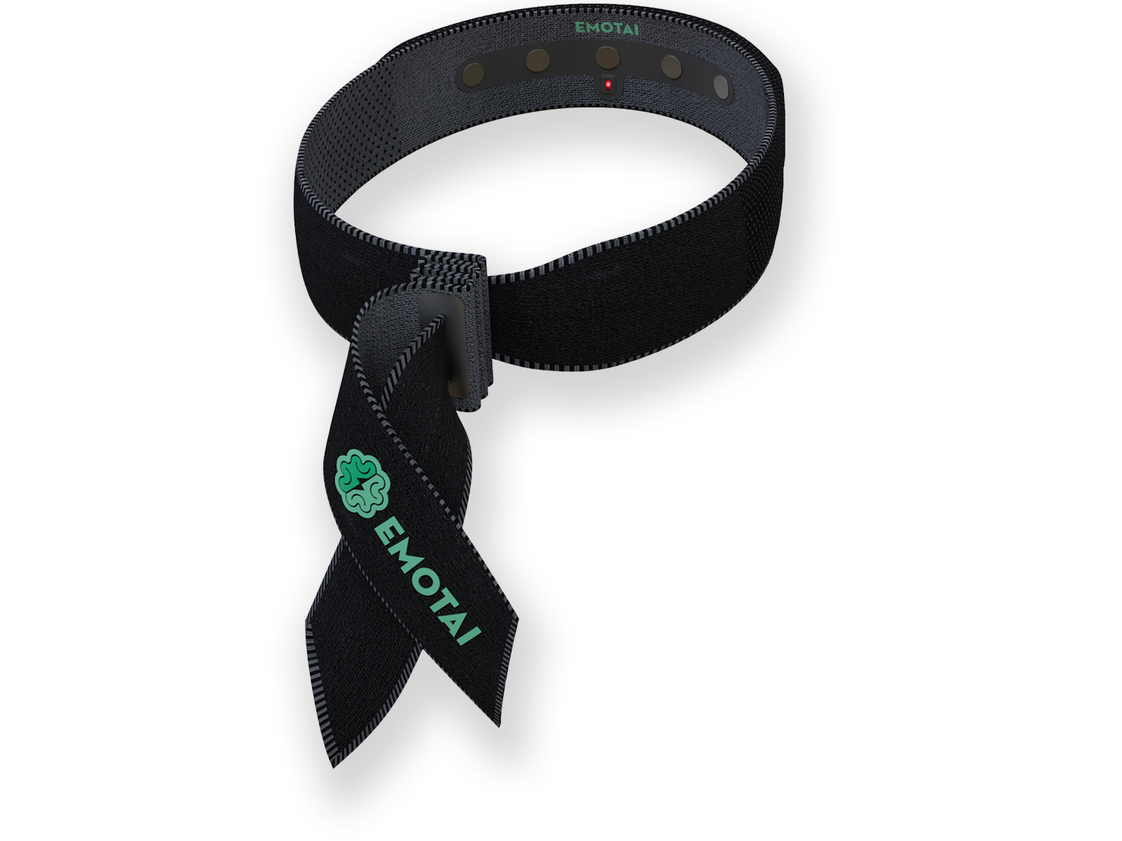 Our headband is made of comfortable textile and has all sensors are placed in the pre-frontal cortex or forehead.