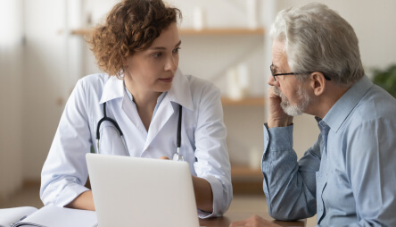 Constant engagement with doctor