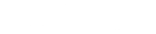 """A white logo that reads, """"Wheatland Roofing Inc."""""""