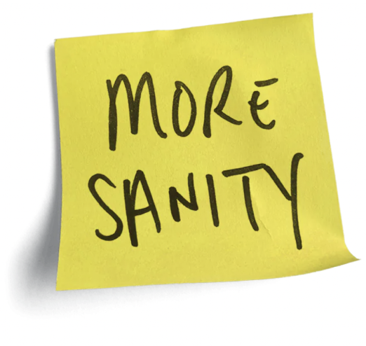 Post it - More sanity