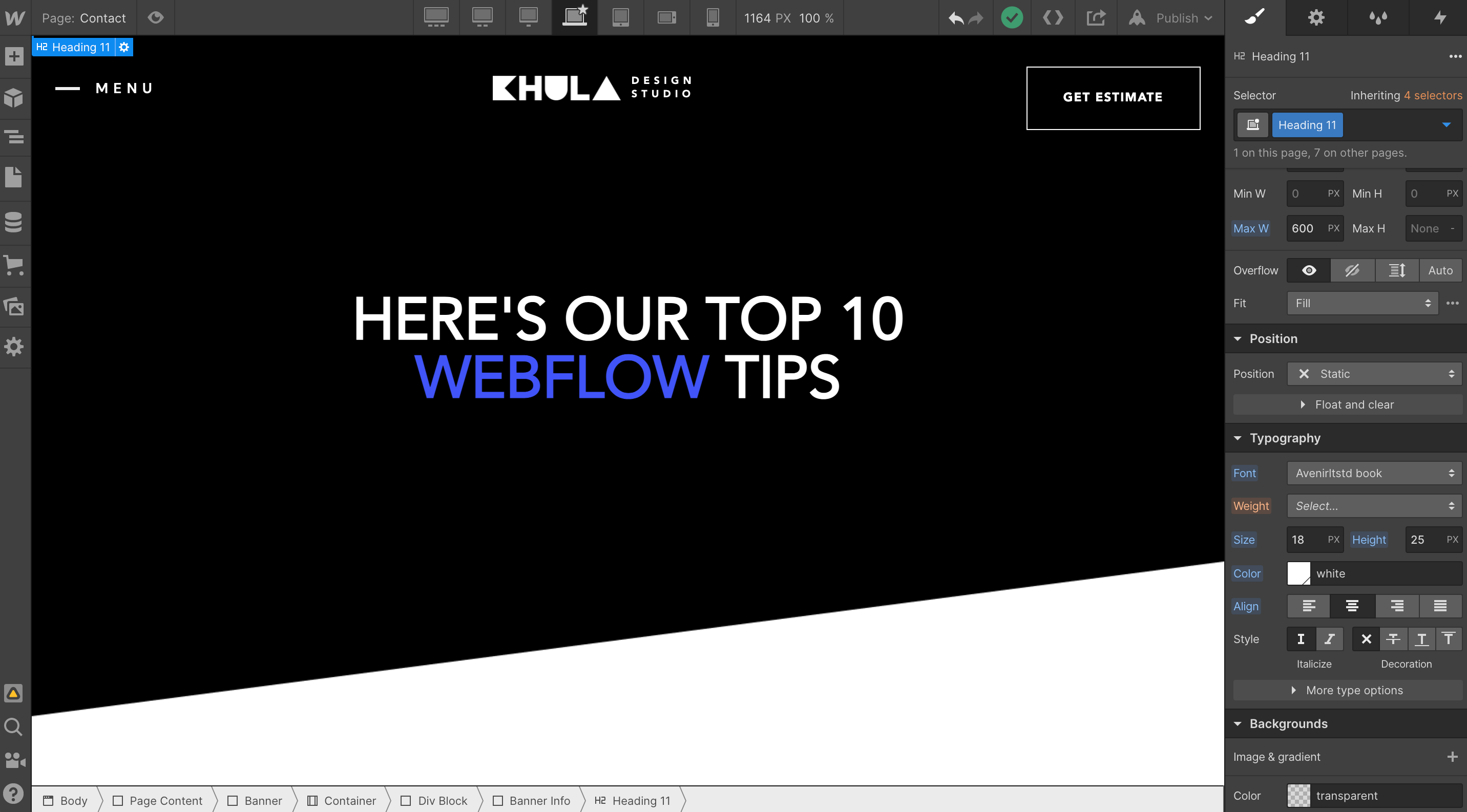 Top 10 Webflow Tips For The Everyday Solopreneur