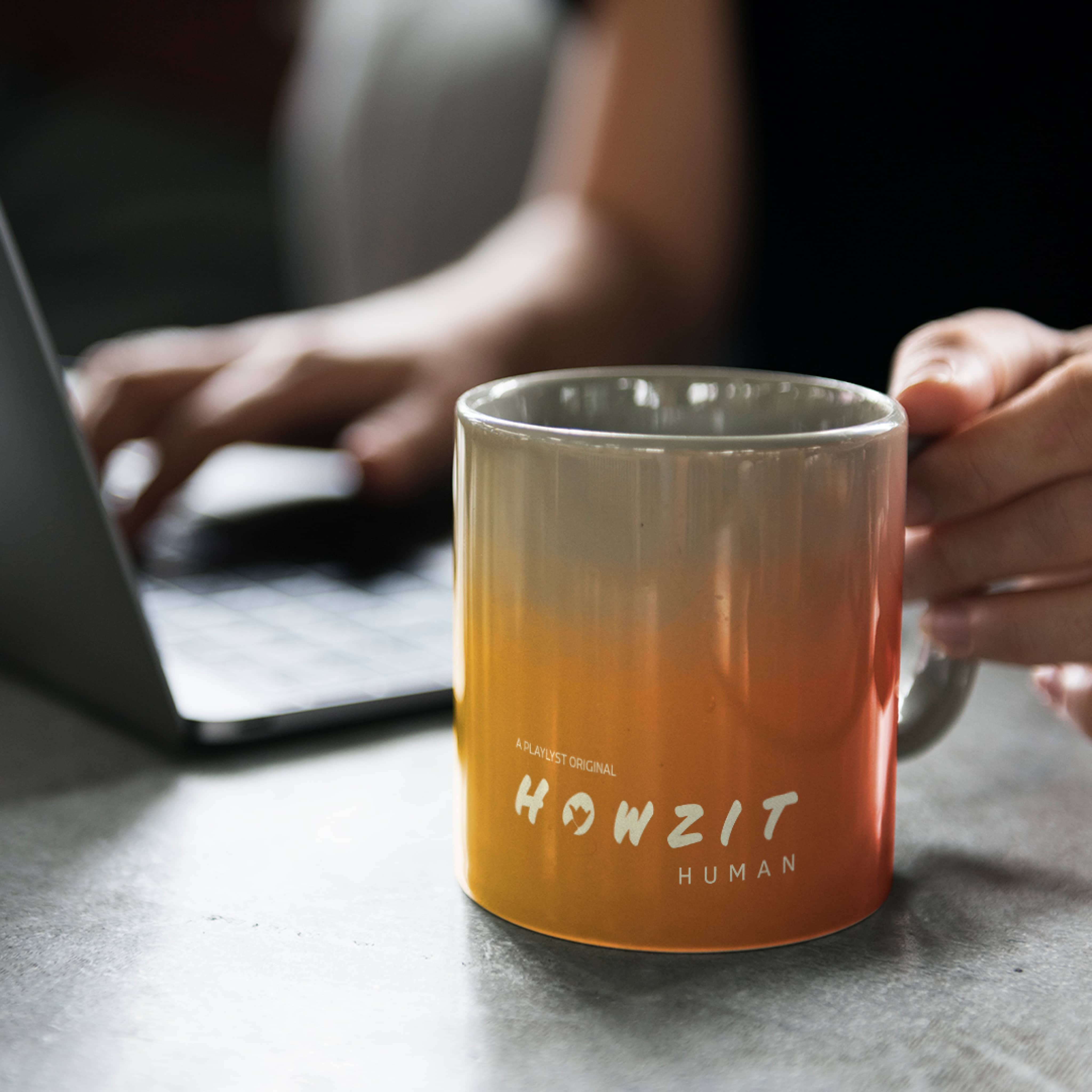 Howzit Human Brand Identity Application by Khula Design Studio at Vancouver, Canada