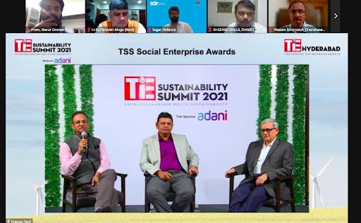 TSS Social Enterprises Award in TiE Sustainability Summit 2021