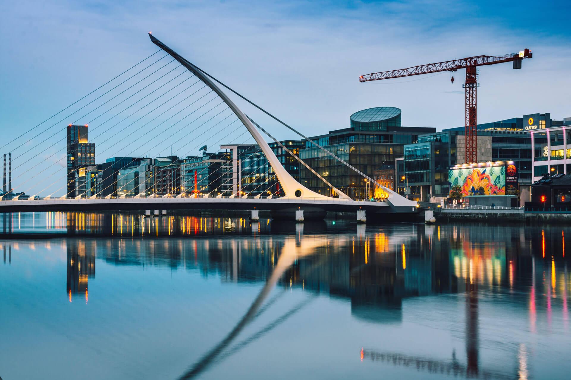 Element Finance Headquarters Downtown Dublin, Ireland