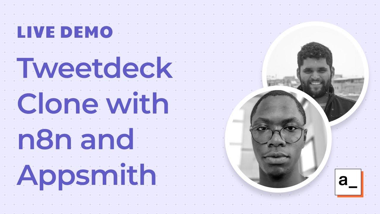 Building a Tweetdeck Clone With n8n: Live Demo #5