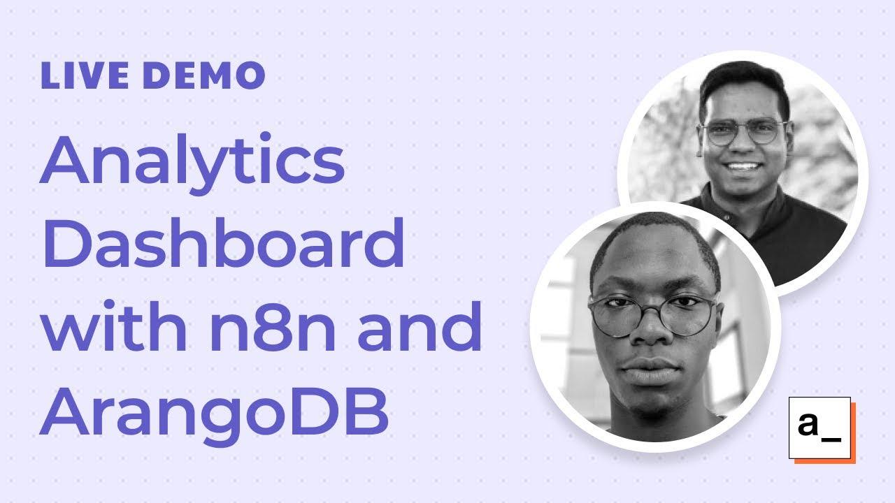 Building a Retail Analytics Dashboard with ArangoDB and n8n: Live Demo #7