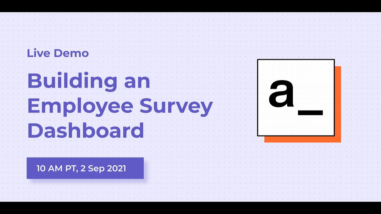 Building an Employee Survey Dashboard with Supabase and n8n: Live Demo #9