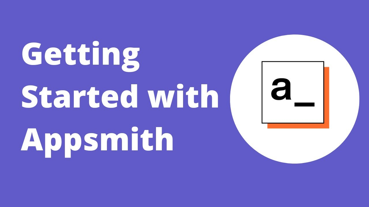 Getting Started with Appsmith
