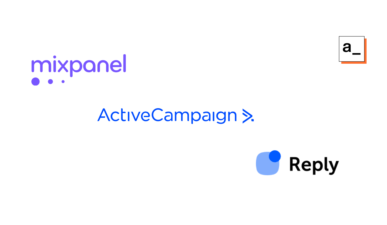 Connecting Mixpanel, Reply.io and ActiveCampaign using Appsmith to engage with your users