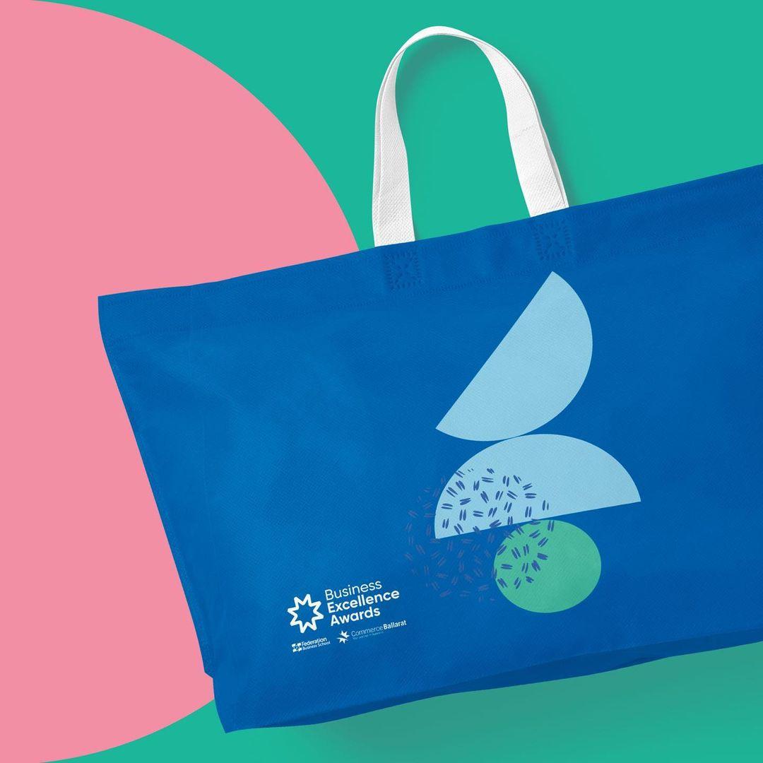 Ballarat Business Excellence awards tote bag