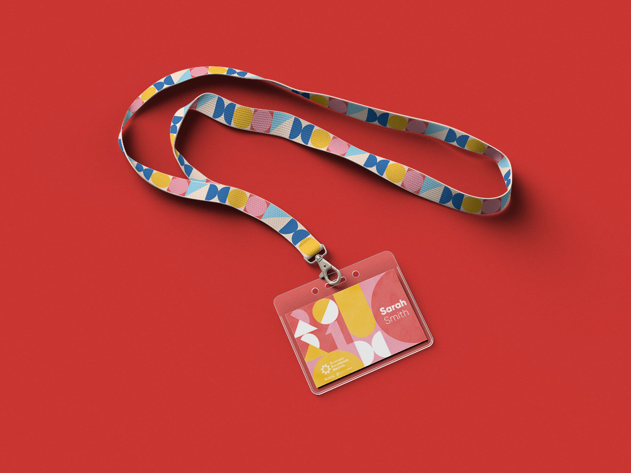 Business excellence awards lanyard