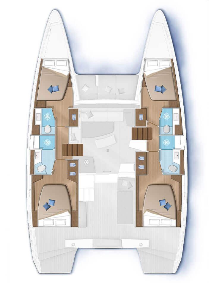 Versione con 4 cabine