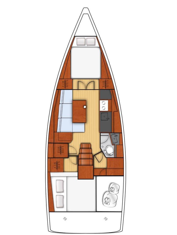 2 cabine 1 Bagno