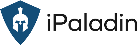 iPaladin logo with blue shield