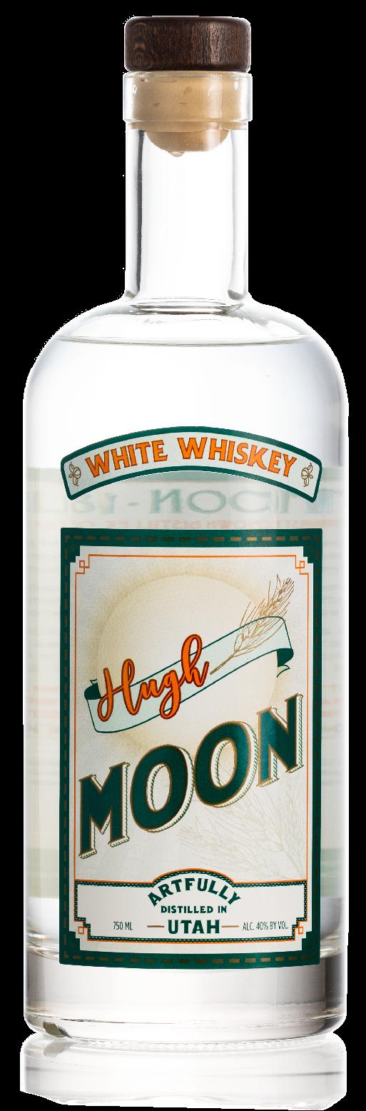 Hugh Moon White Whiskey by Dented Brick
