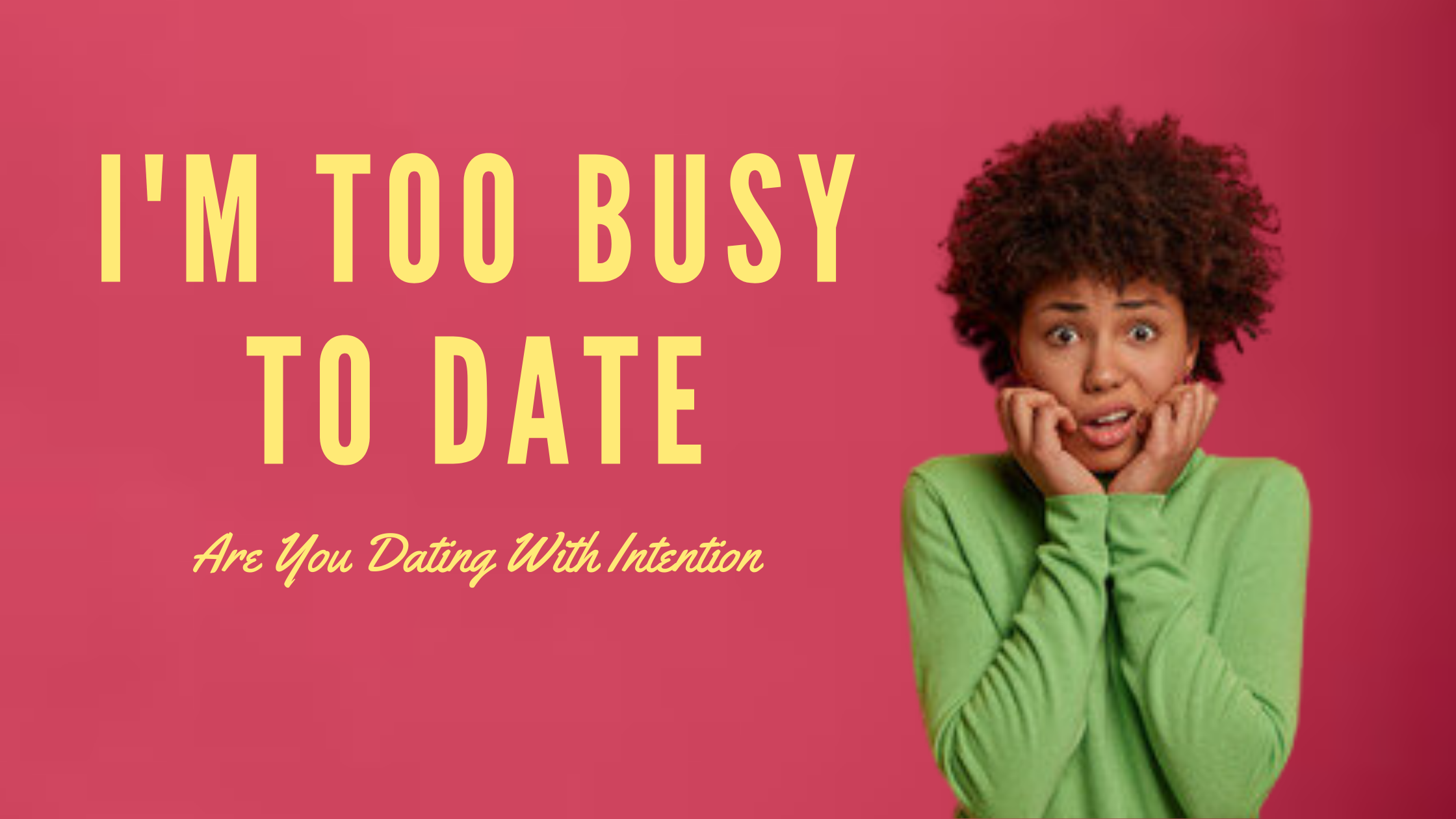 When you are maneuvering the dating scene, getting to know your potential partner is going to take some time. However, based on a survey that was conducted by our team, professional single men and women who are navigating the dating scene stated that one of the biggest challenges they face as a busy professional is that they would love to go on more dates but they just don't have the time.