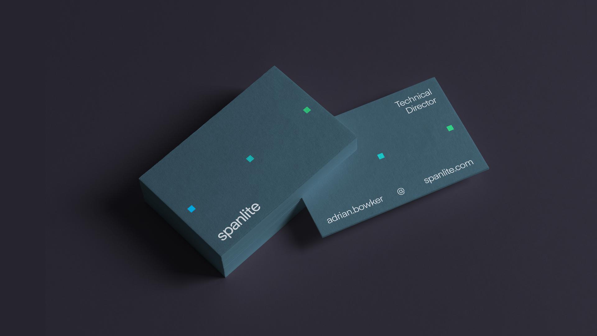 Spanlite Business Card Design