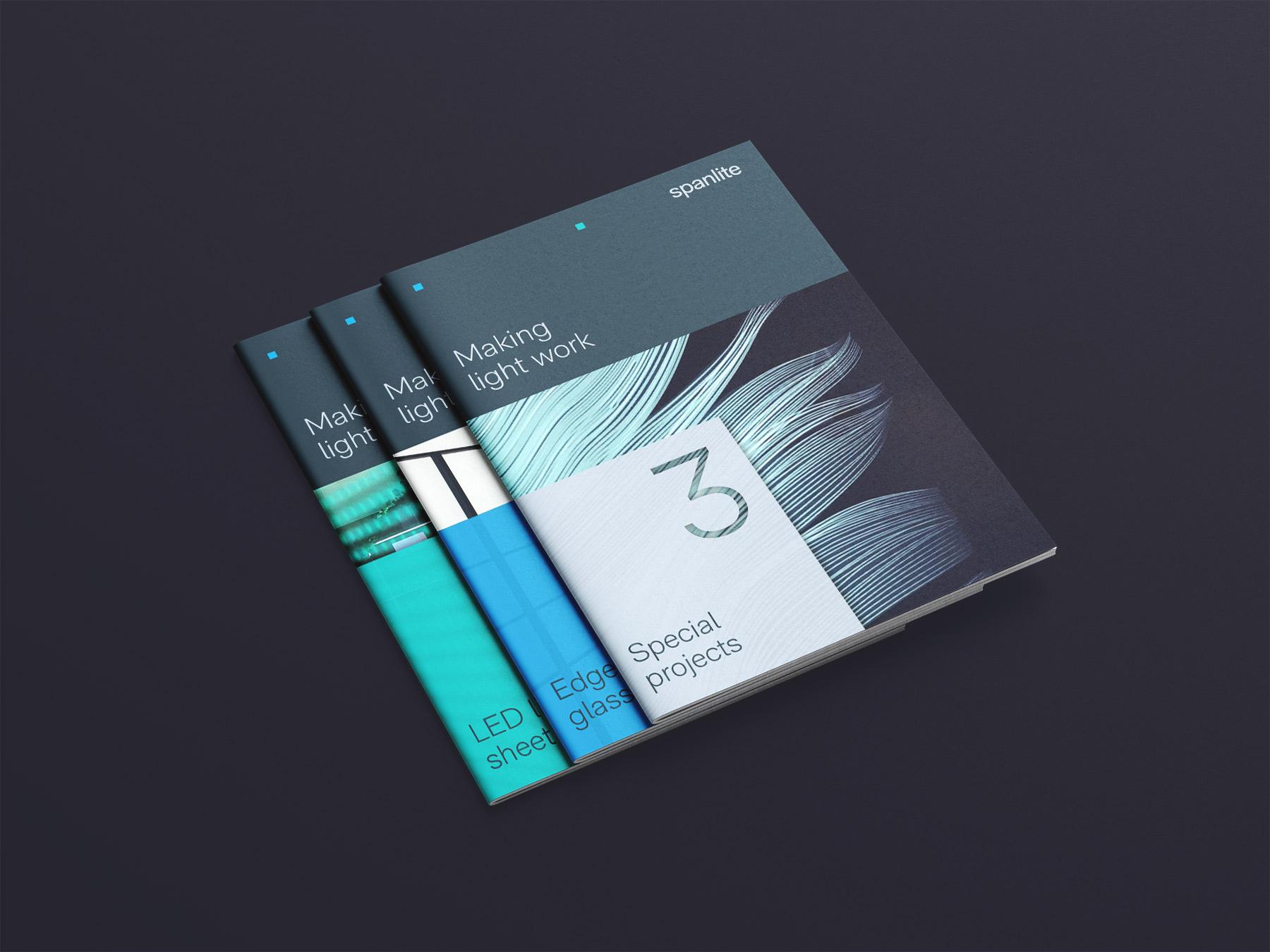 Spanlite Brochure Design