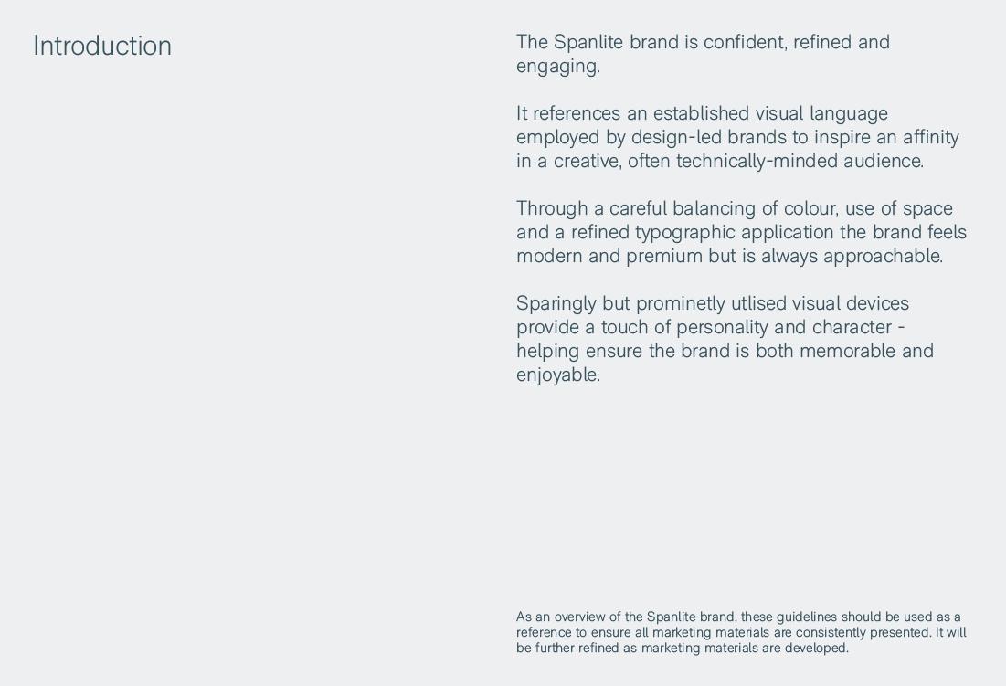 Spanlite Brand Guidelines