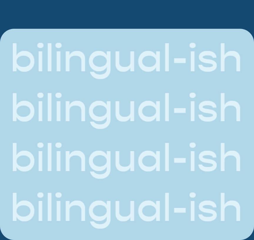 Bilingualish Blog Logo