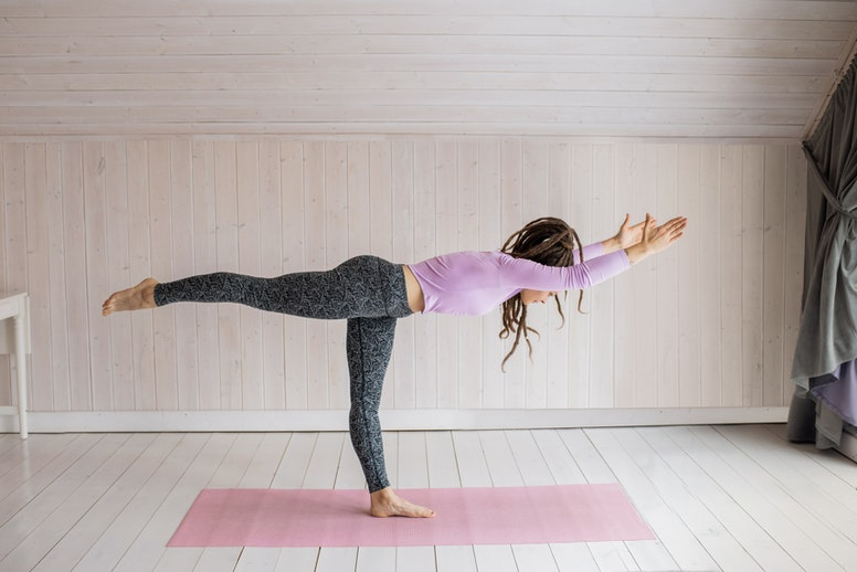 5 minutes is all you need for yoga