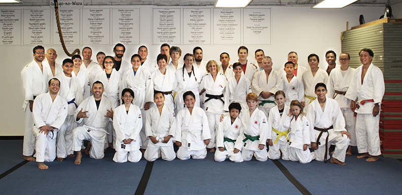 Midway Judo class