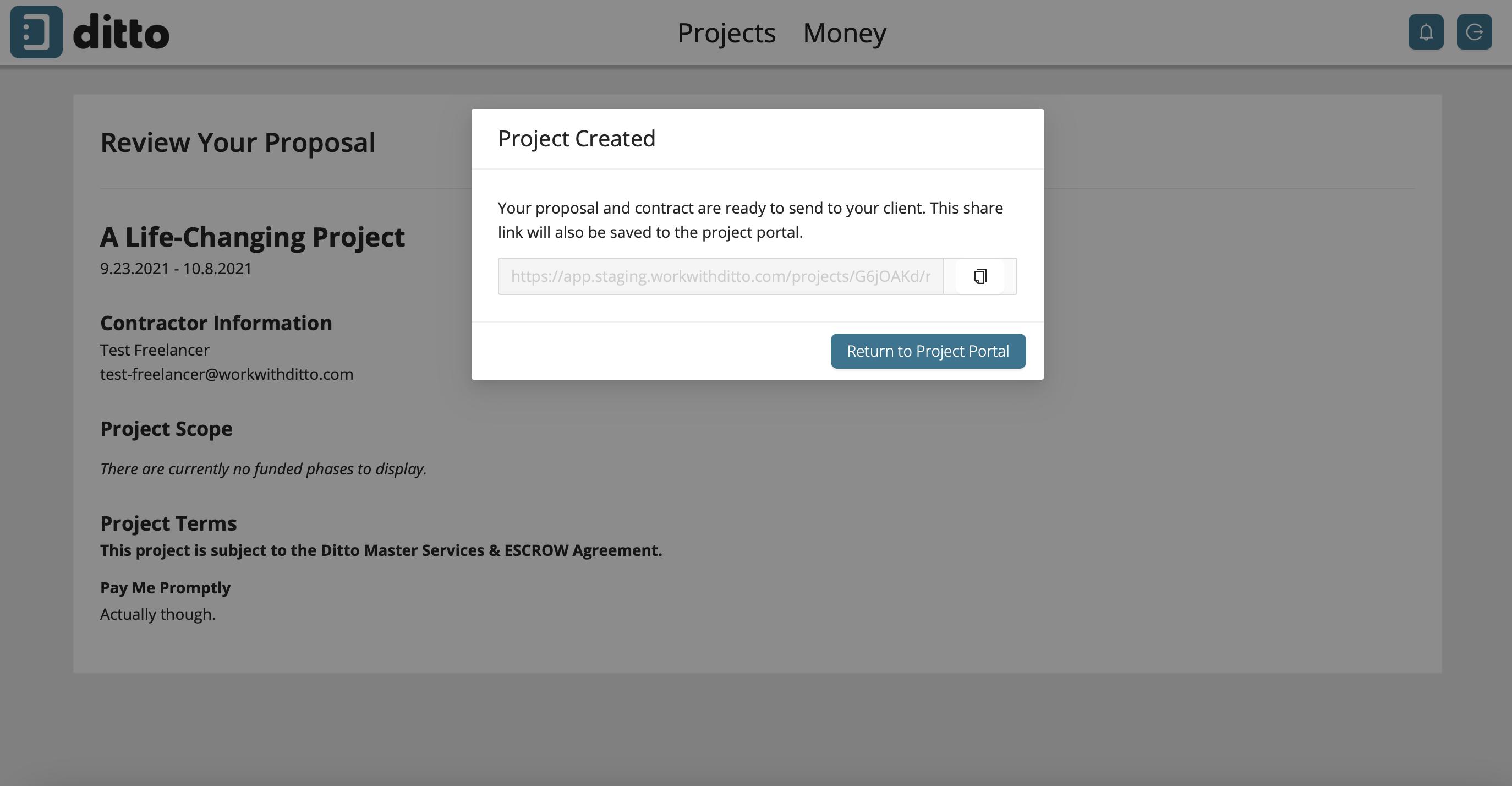 freelancer step two