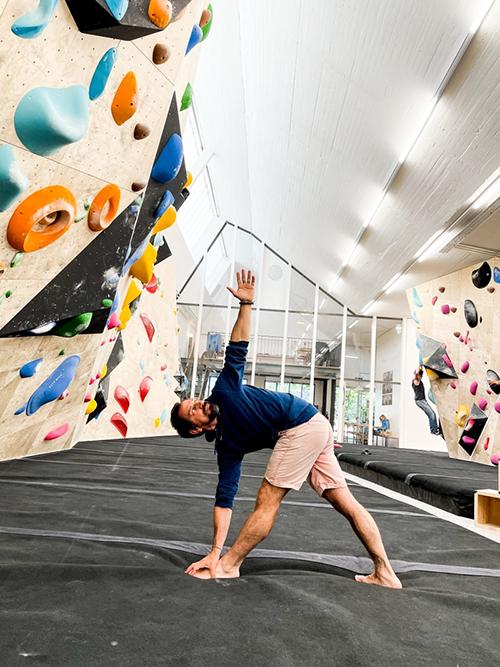 Yoga for Climbers I'm Quadrel