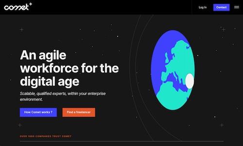 No-Code Startup Example Comet
