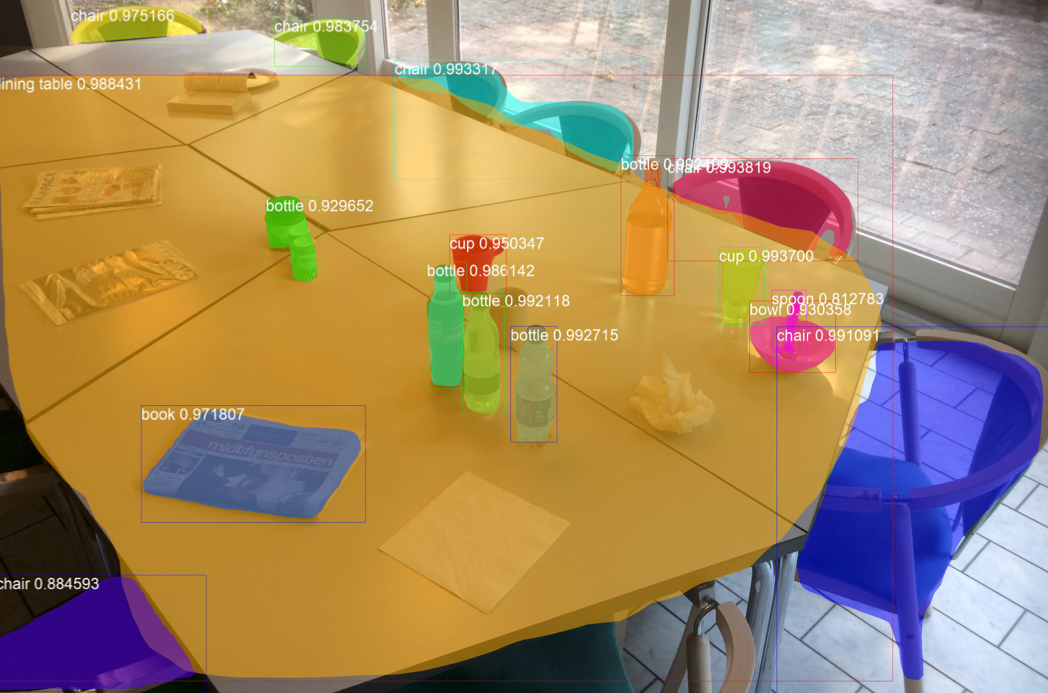 IoT sensors enable robot to clean through object detection